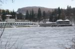 Medve-tó télen